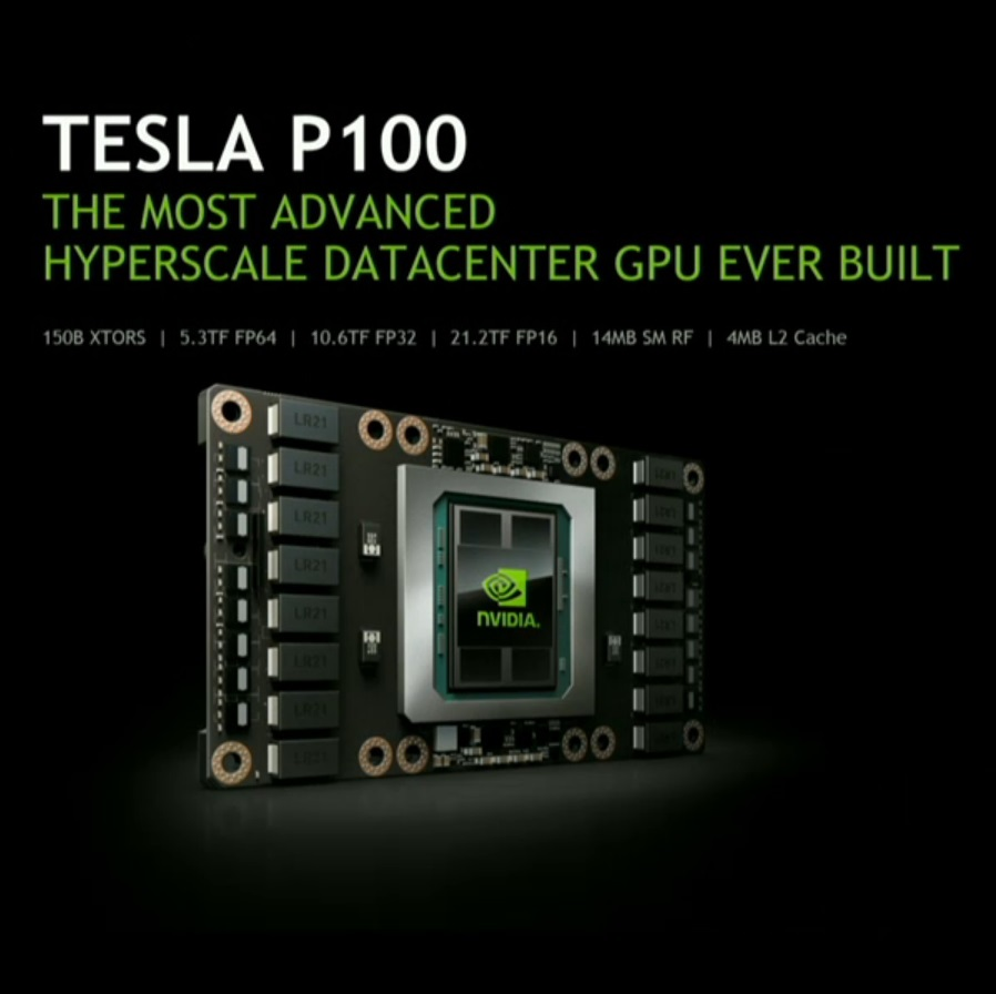 Nvidia Unveils Pascal Tesla P100 With Over 20 Tflops Of