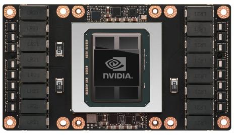Pascal Tesla P100 GPU Board