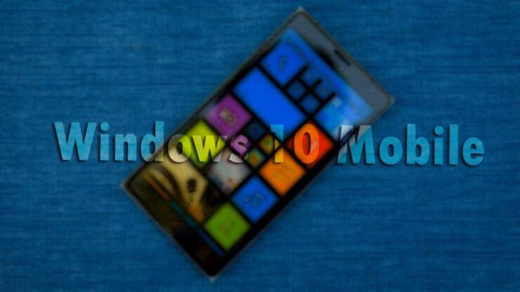 windows 10 mobile cumulative