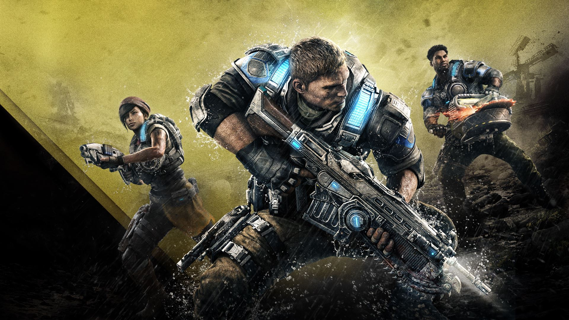 Gears of war 4 possibly largest xbox one game to date - Wallpaper gears of war 4 ...
