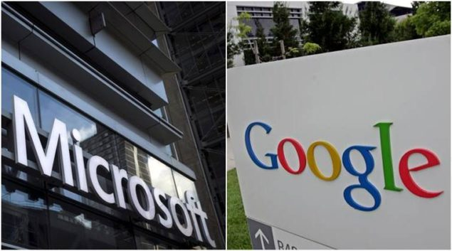 microsoft and google 2