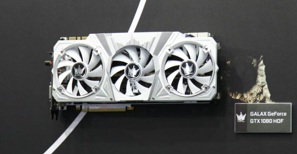 GALAX GeForce GTX 1080 And 1070 Pictures Show Up – Additional Show Up As Well