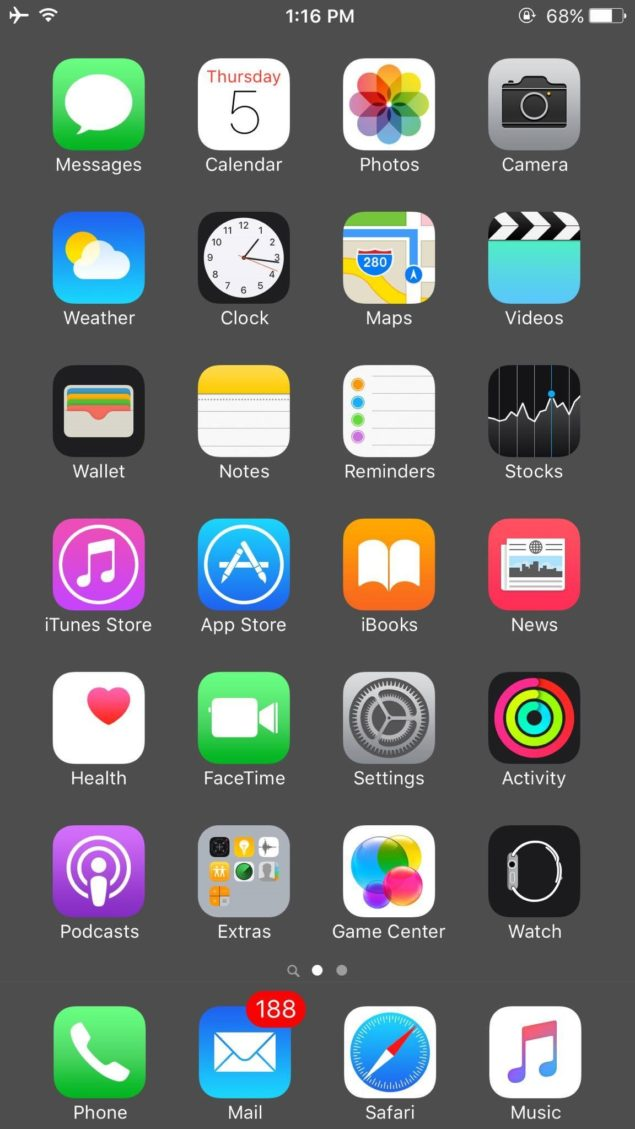 Hide IOS Dock On IPhone Without Jailbreaking