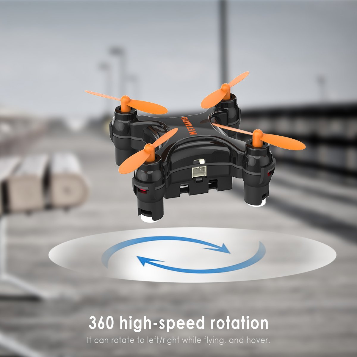 Metakoo Bee Happens To Be The Worlds First Mini Rc Quadcopter With Programmable Flipping Functions