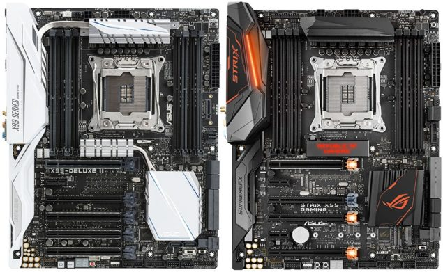 ASUS X99 Broadwell-E Motherboards
