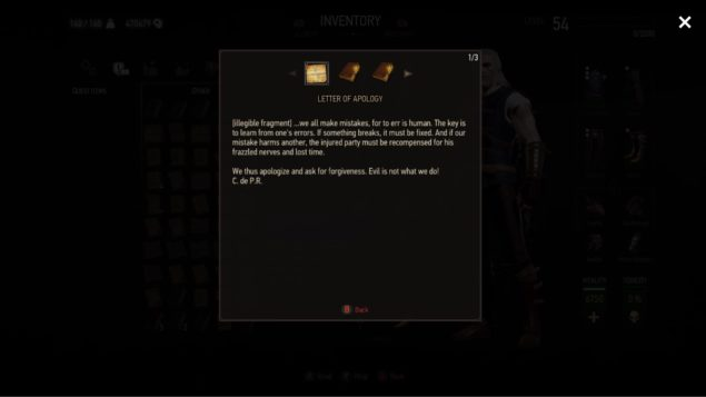 The Witcher 3 1 21 Update Released Earlier On X1, New Screens