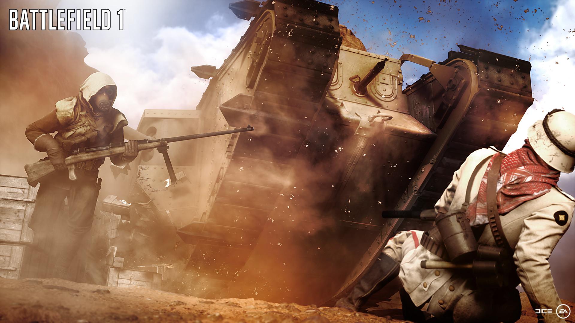 Battlefield 1 New Videos Showcase New Mechanics, Alpha Weapons , New