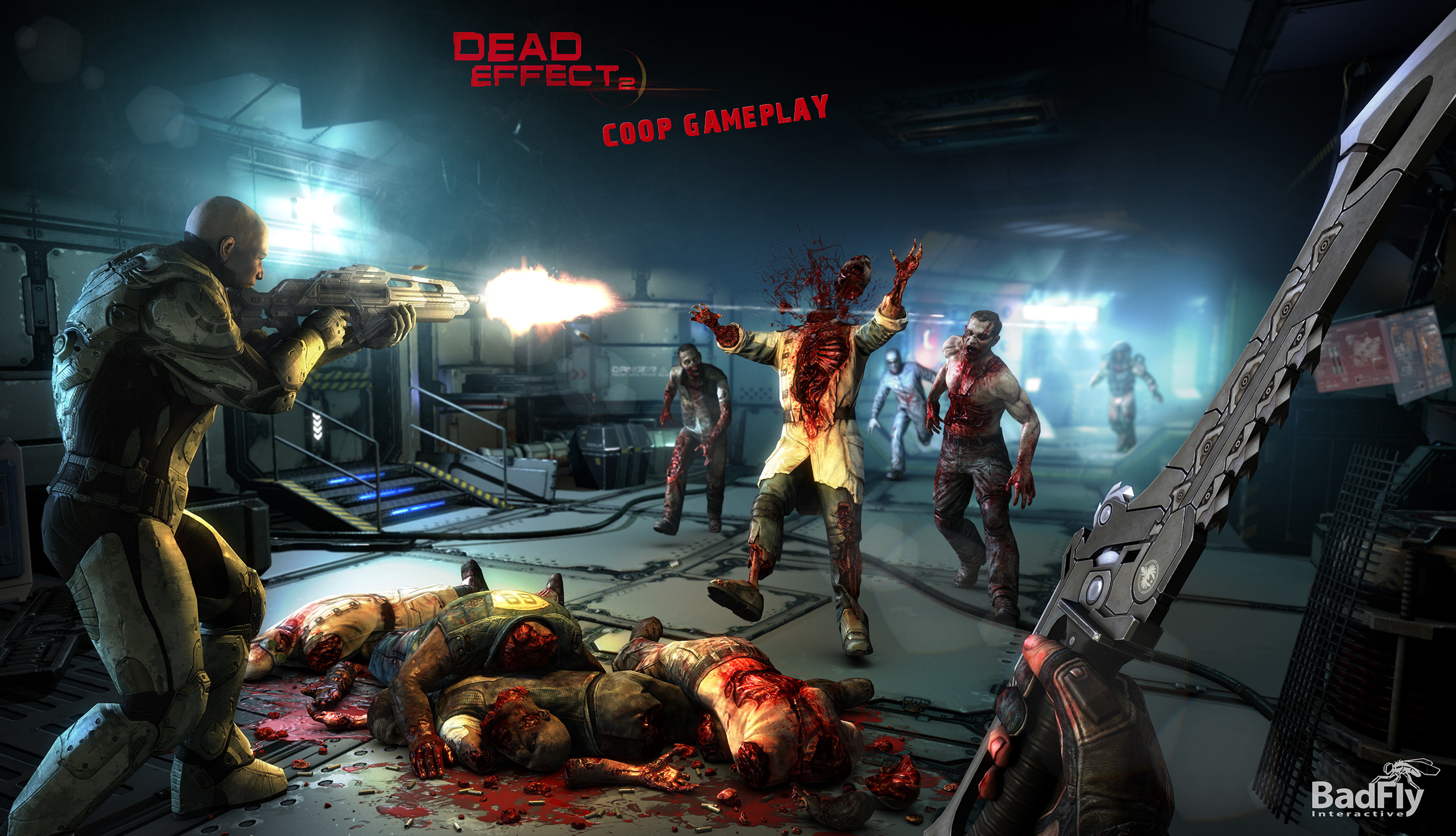 Sci Fi Fps Dead Effect 2 Out Now On Pc Due In June For