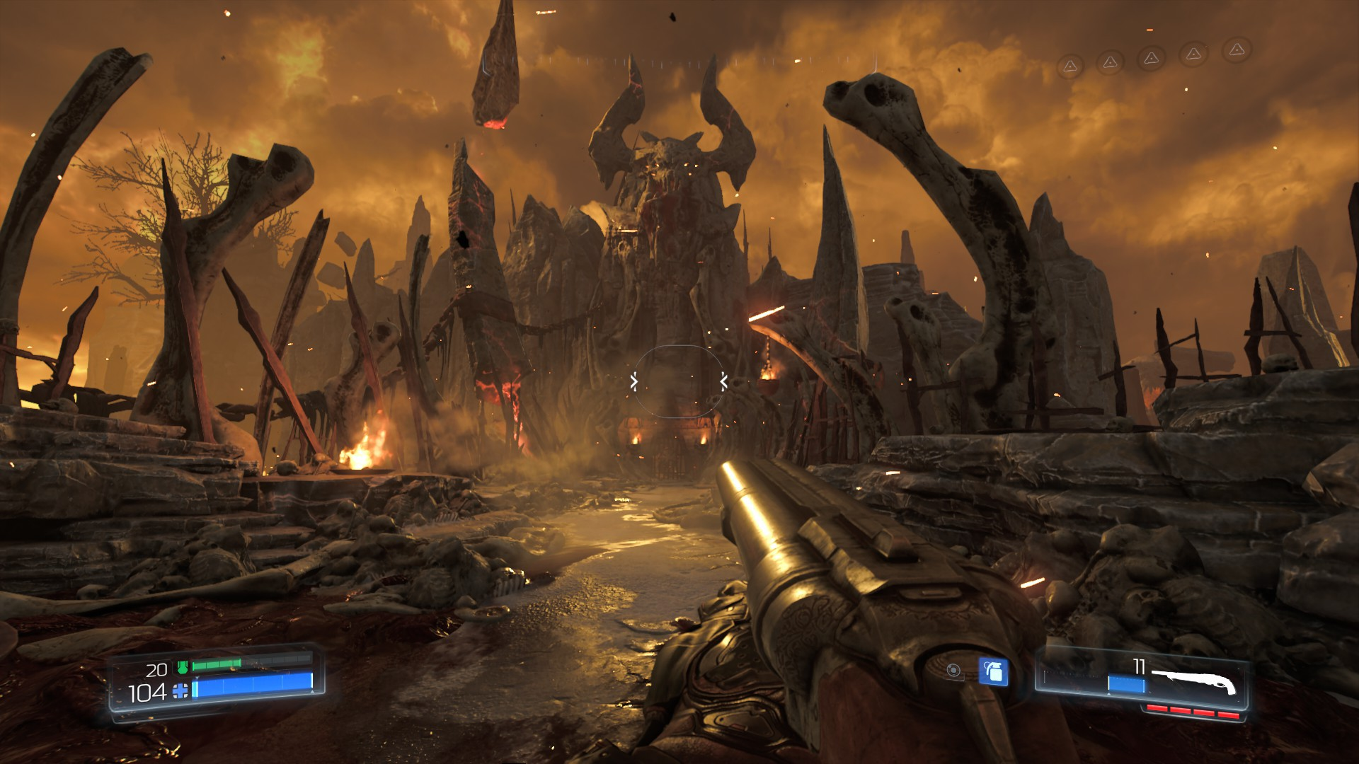 DOOM Gets New Gameplay Video Showcasing Early Game Mission Screenshots