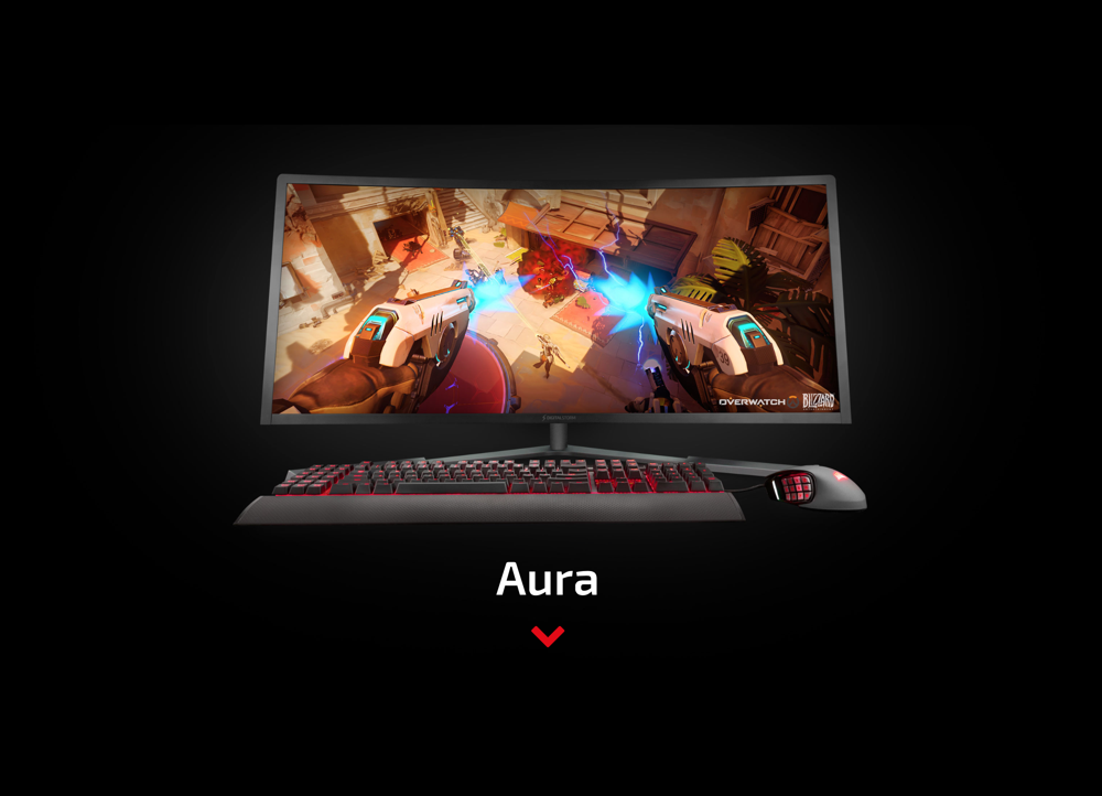 Digital Storm's 34-inch Aura All-in-One Gaming PC Houses A