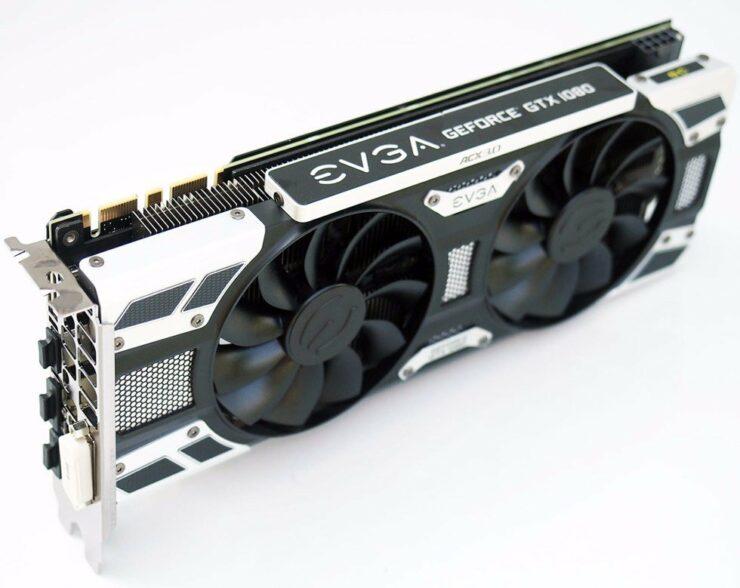 ASUS ROG STRIX GeForce GTX 1080, EVGA GeForce GTX 1080 ACX