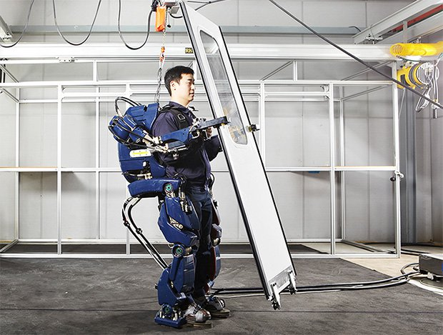 Hyundai Has Created A Massive Exoskeleton That Will Aid Factory Workers – Resembles A Miniature Hulk Buster Armor
