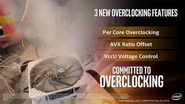Intel Broadwell-E_Overclocking Support