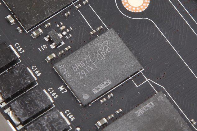 NVIDIA GDDR5X Memory