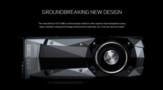 NVIDIA GeForce GTX 1080 Graphics