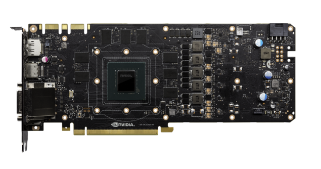 NVIDIA GeForce GTX 1080 PCB