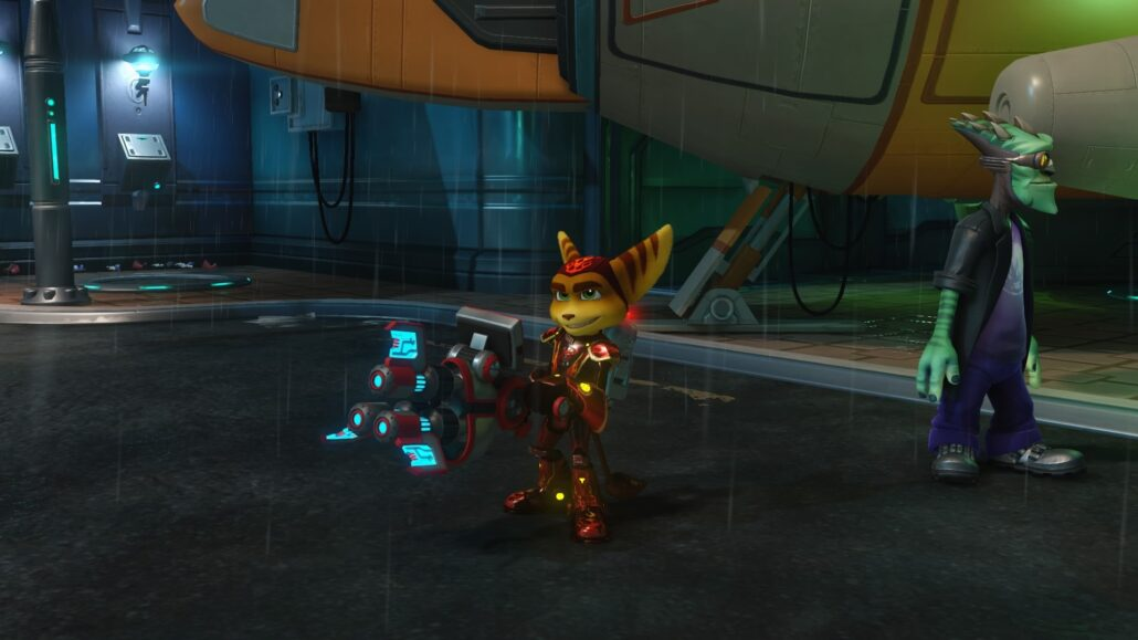 Ratchet & Clank - Meet the RYNO