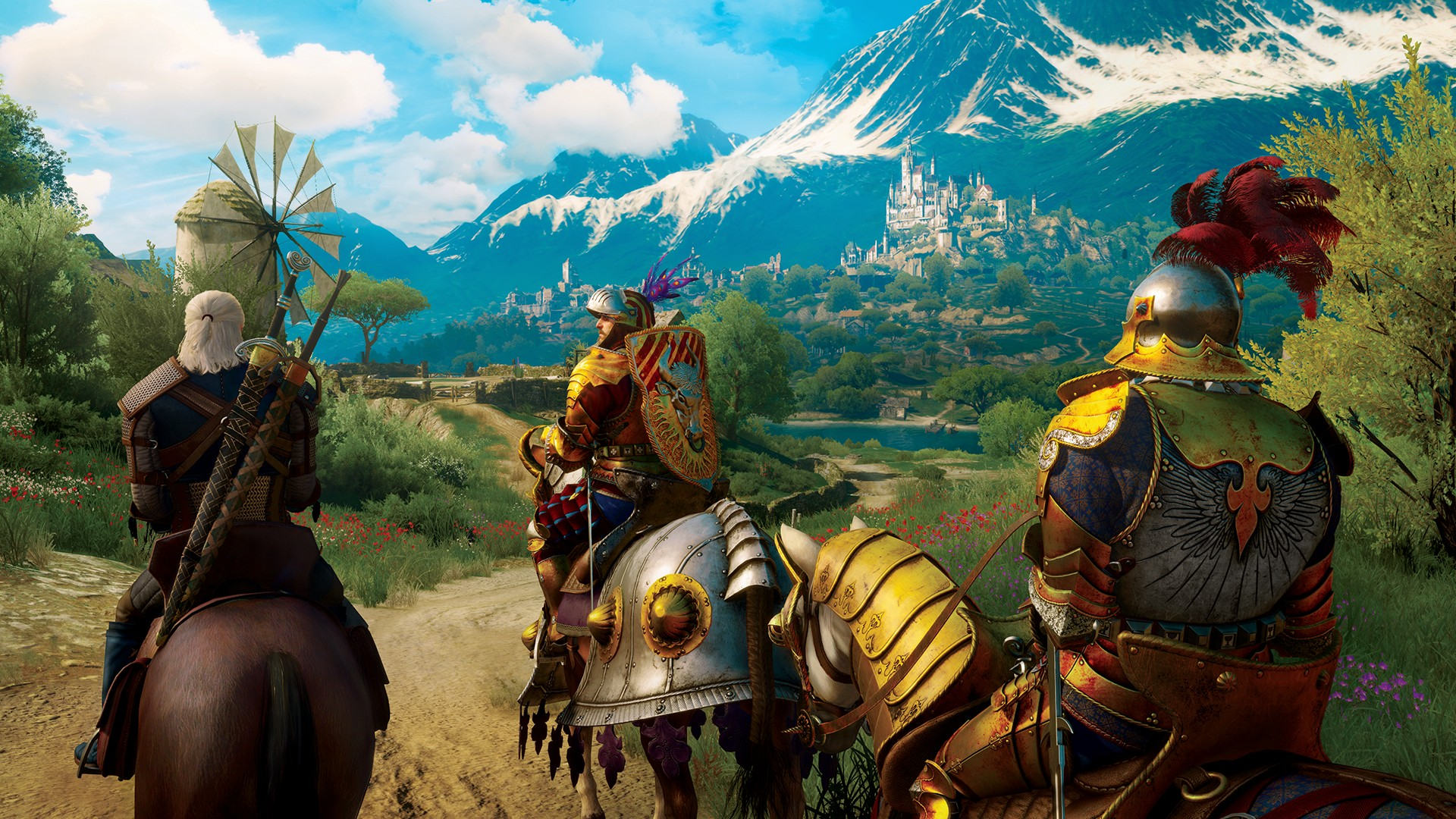 The Witcher 3 Wild Hunt Blood and Wine Toussaint is a beautiful place RGB