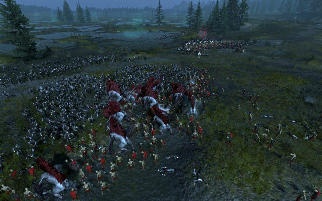 Total War Warhammer 01 - Swampy Battle