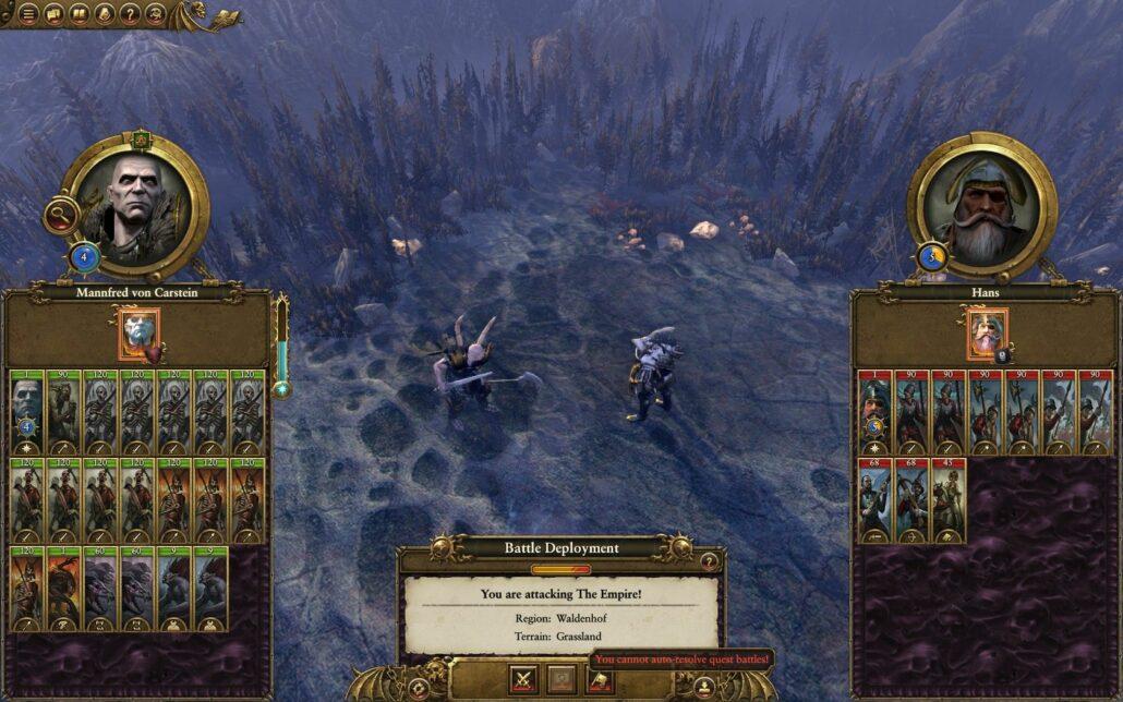 Total War Warhammer 02 - Quest Battle