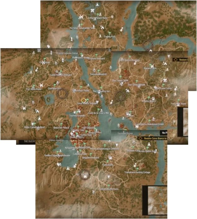 Toussaint Map