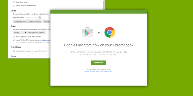 android apps for chrome and windows