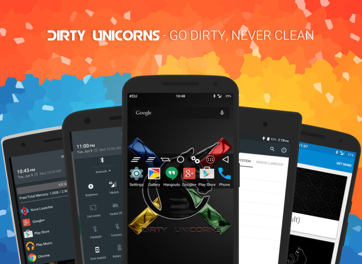 update Note 3 to Android 6.0.1 dirty unicorns rom