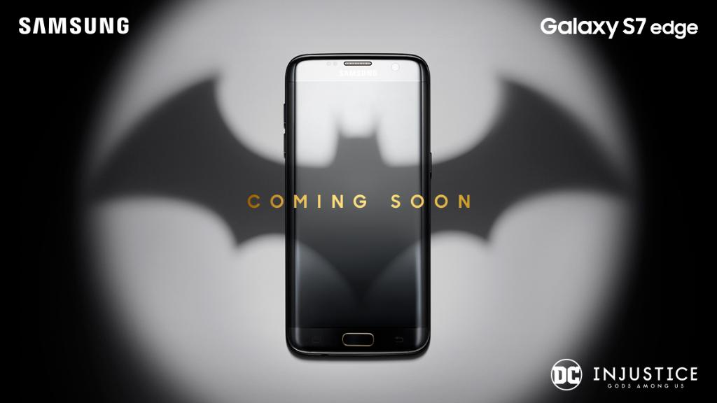 Galaxy S7 Edge Injustice Gods Among Us Themed Phone To Be Announced Soon
