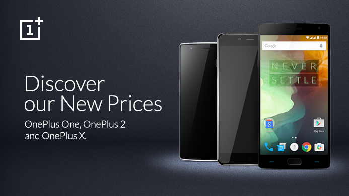 All OnePlus Devices Are Now Available At A Smaller Price Tag – OnePlus 3 Launch Coming Soon