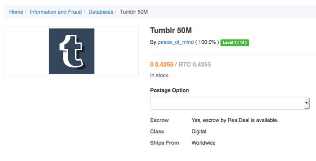 tumblr hack passwords stolen