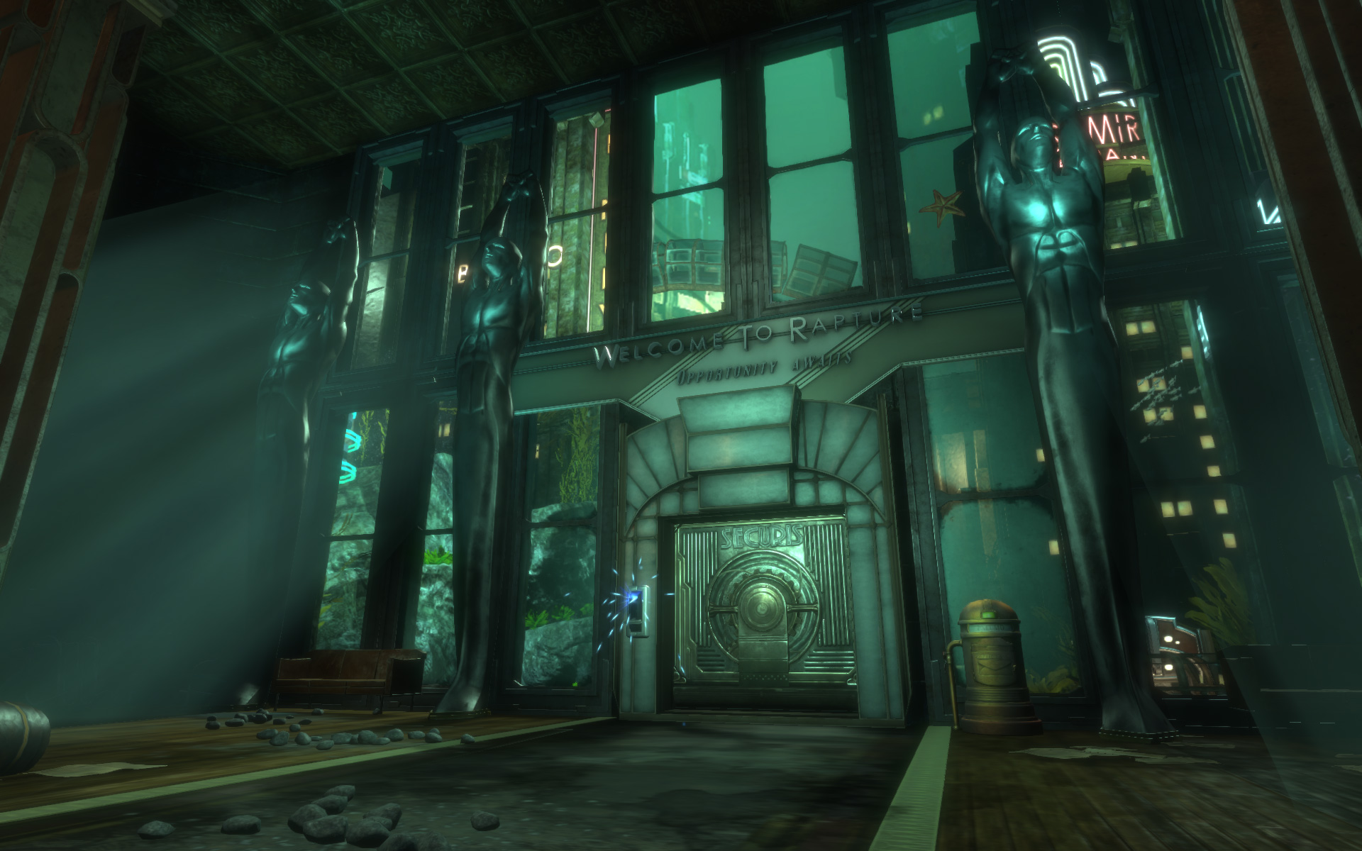 bioshock remastered is a mess on pc very limited graphical options