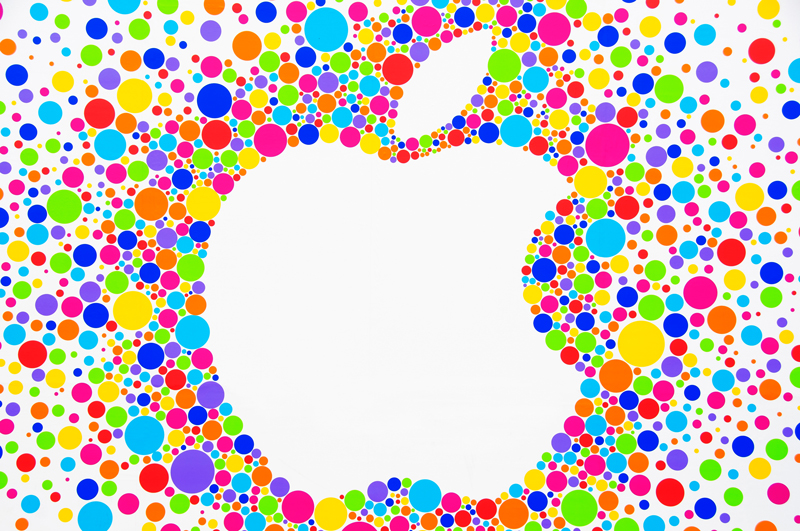 colorful apple logos. The ITC Launches Patent Infringement Probe Against Apple; Completion Date To Be Set Colorful Apple Logos 7