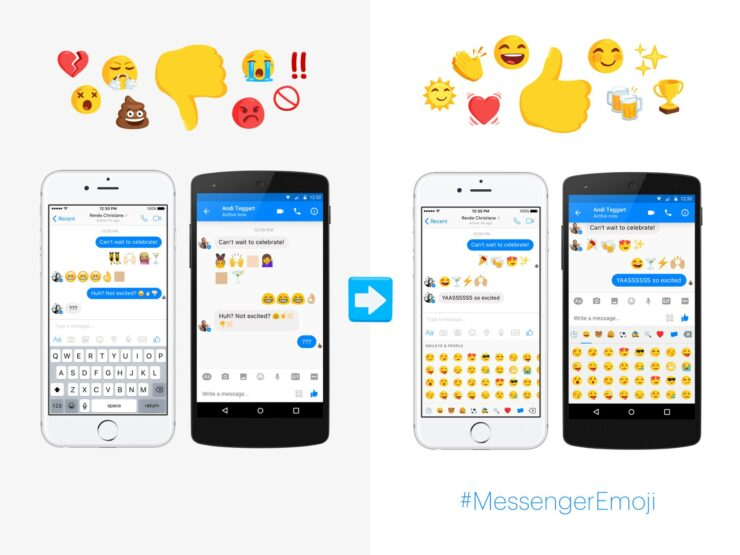 Facebook Messenger Gains 1,500 New Emojis - Available On All