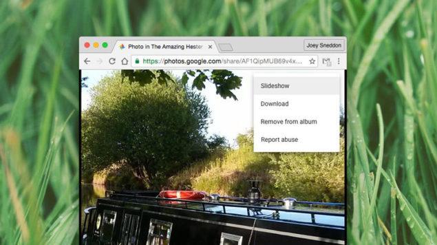 Google Photos SLide Show