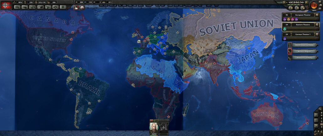 Hearts of Iron 4 01- World Map