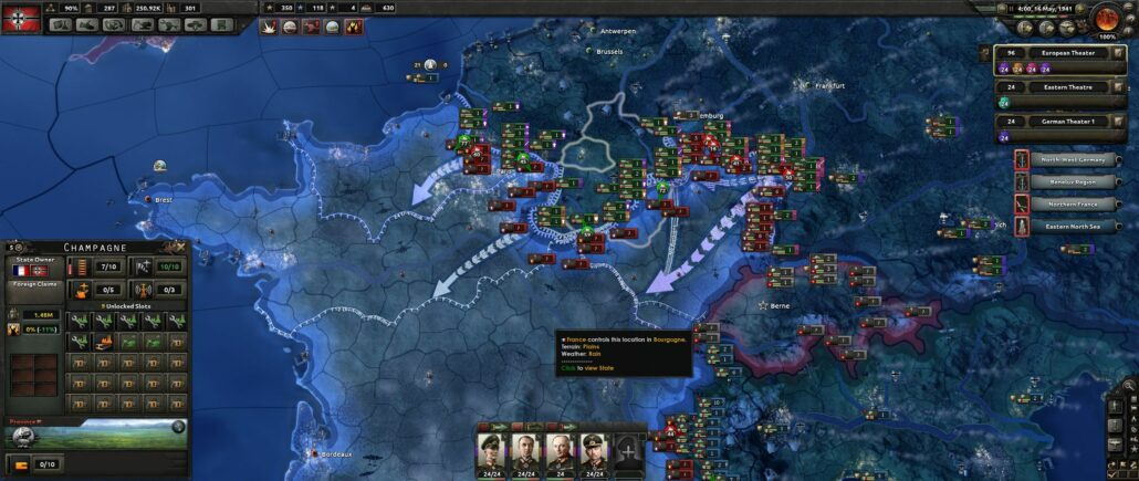 Hearts of Iron 4 04 - Invading France