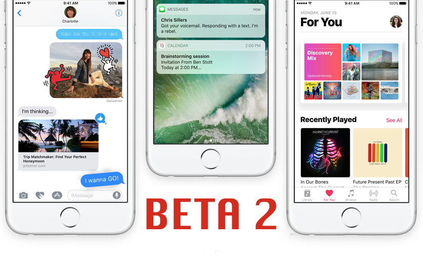 Download iOS 10 Beta 2 For iPhone, iPad, iPod touch