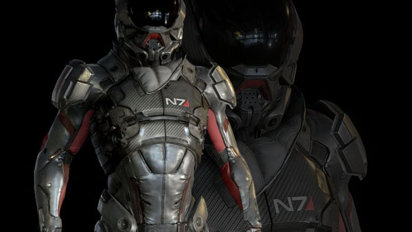 """N7 Armor Mass Effect Andromeda: Bioware Teasing ME Andromeda; """"More Life"""" Breathed Into It"""