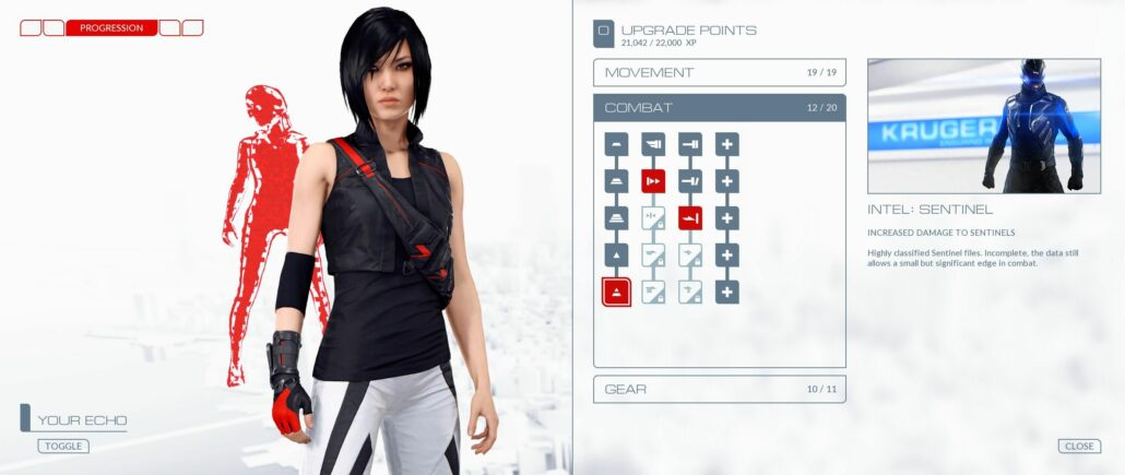 Mirror's Edge Catalyst 01 - Upgrades
