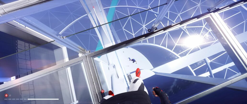 Mirror's Edge Catalyst 03 - Falling