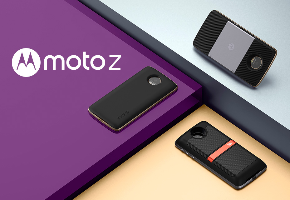 Moto Z Family Includes Three New Phones With Moto Mods That Modularize Your Handset