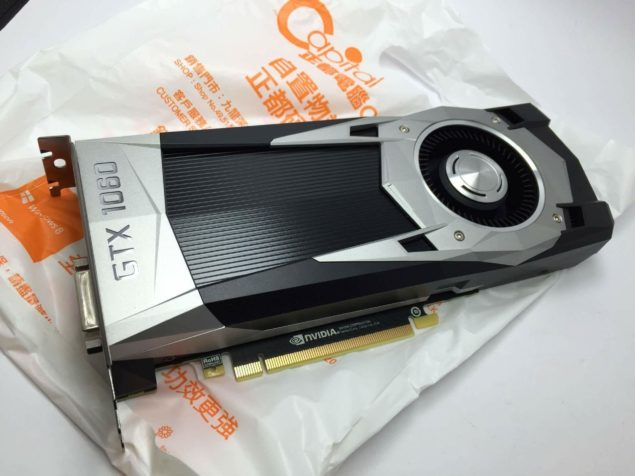 NVIDIA GeForce GTX 1060 Pascal GP106-400