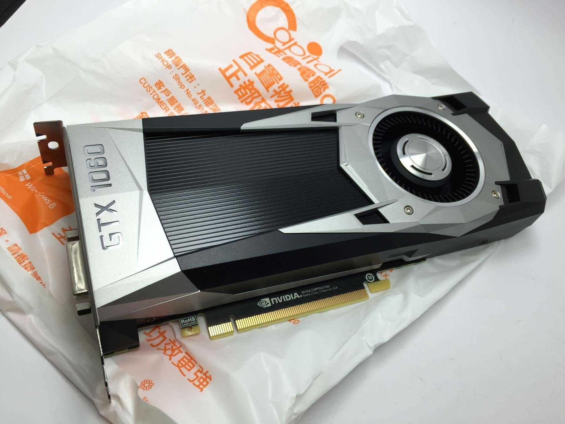 NVIDIA GeForce GTX 1060 Official Specifications and Benchmarks
