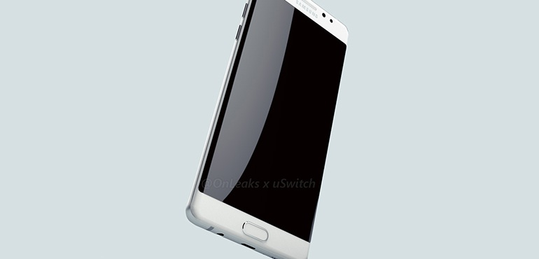 Galaxy Note 7 Renders Leak With Beautifully Thin Side Bezels