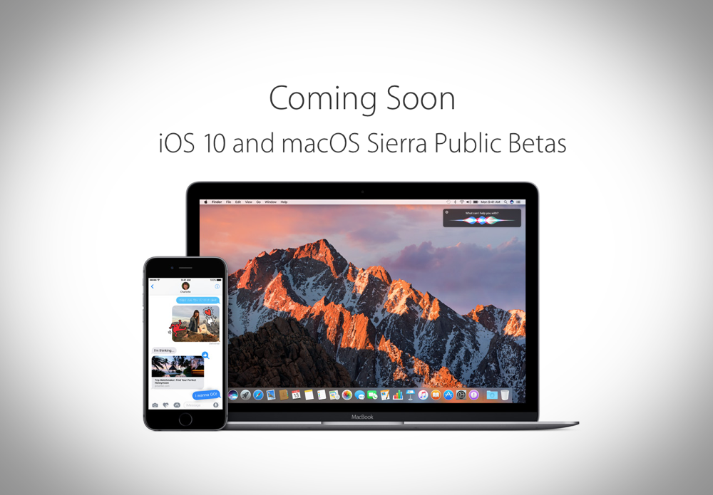 Heres How You Can Sign Up For Ios  And Macos   Sierra Public Beta Builds Right Now