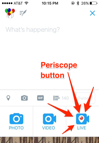Go Live' Periscope Button Being Rolled Out For Twitter Mobile App Users