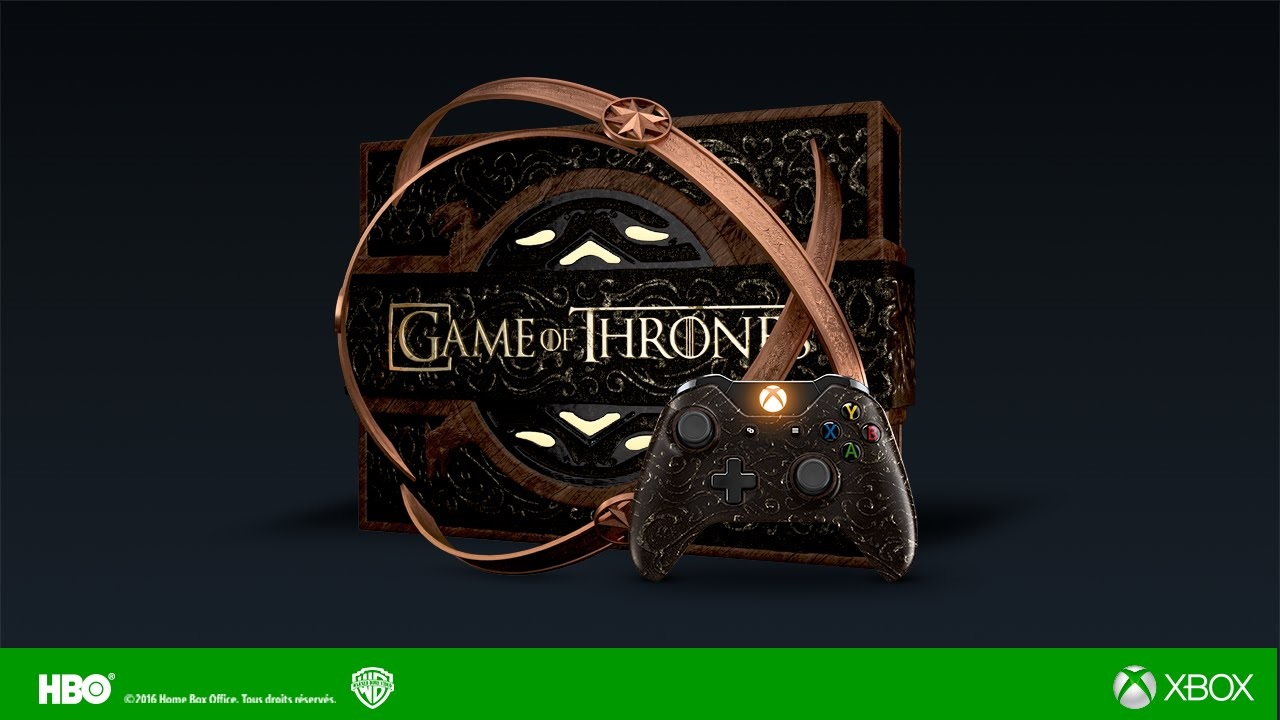 D Line Drawings Xbox One : Microsoft s latest limited edition game of thrones xbox