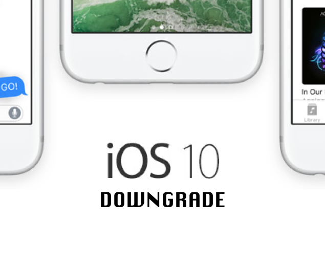 Downgrade iOS 10 beta