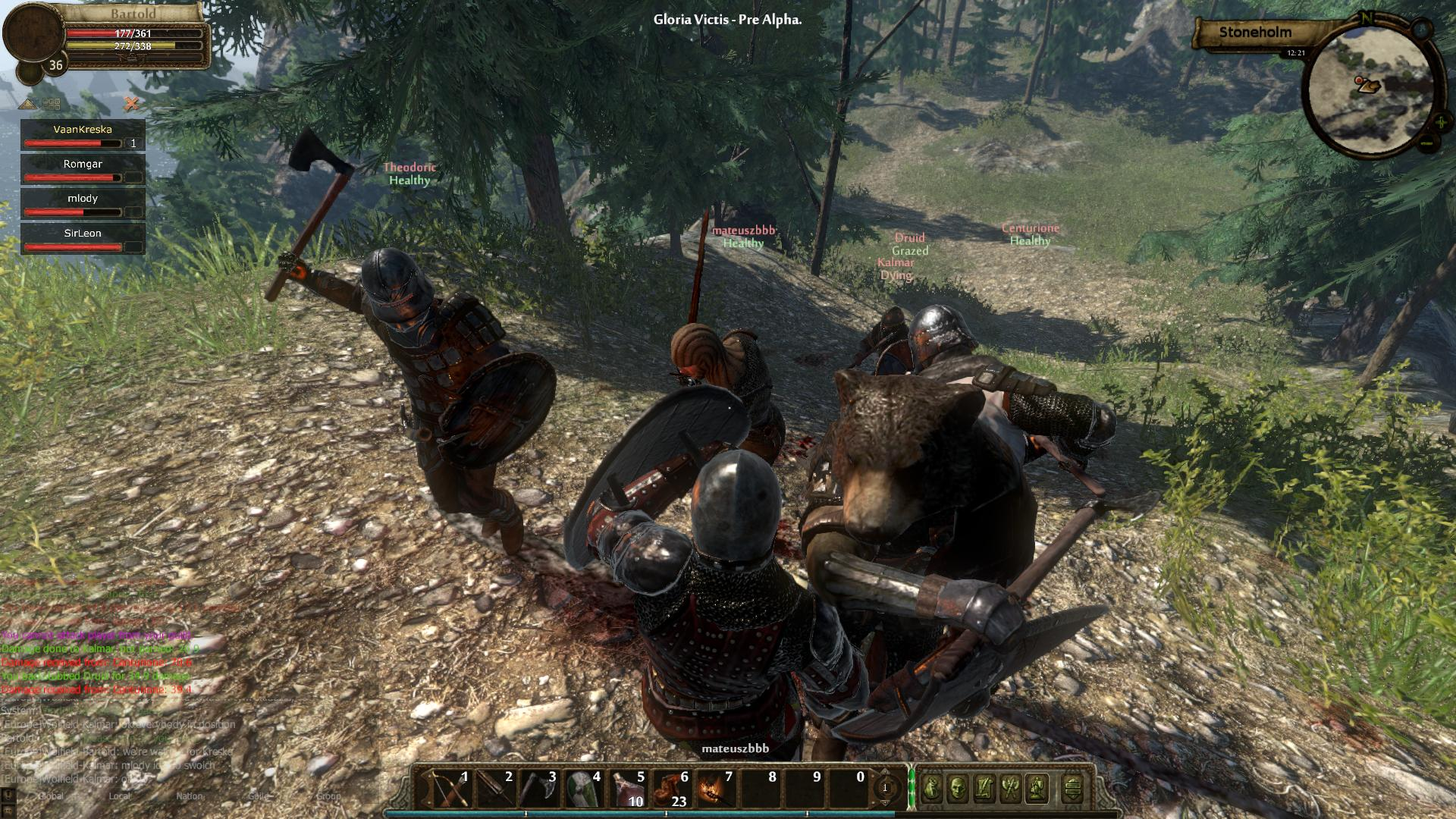 Low Fantasy Mmo Gloria Victis Launching June 8th On Steam