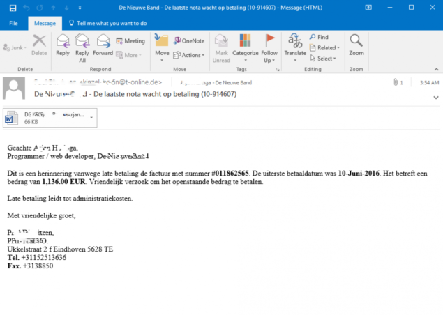 phishing for banking trojan
